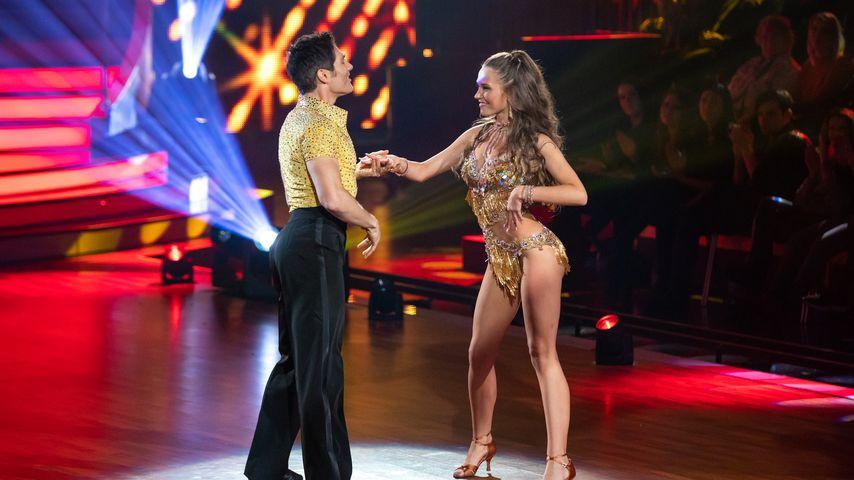 "Laura Müller und Christian Polanc bei ""Let's Dance"""