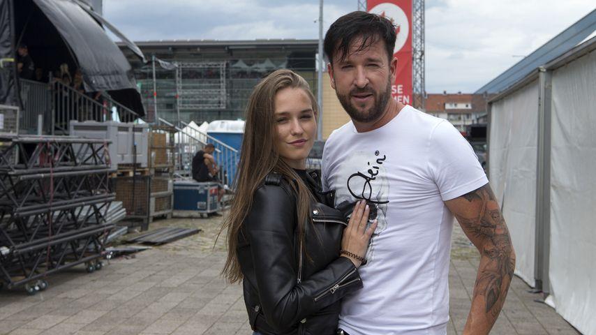 Laura Müller und Michael Wendler im Juli 2019