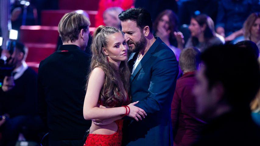 """Laura Müller und Michael Wendler im """"Let's Dance""""-Studio"""