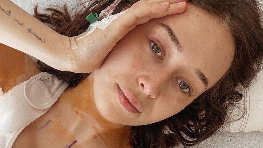 Laura Sophie nach ihrer Brustverkleinerung, April 2021