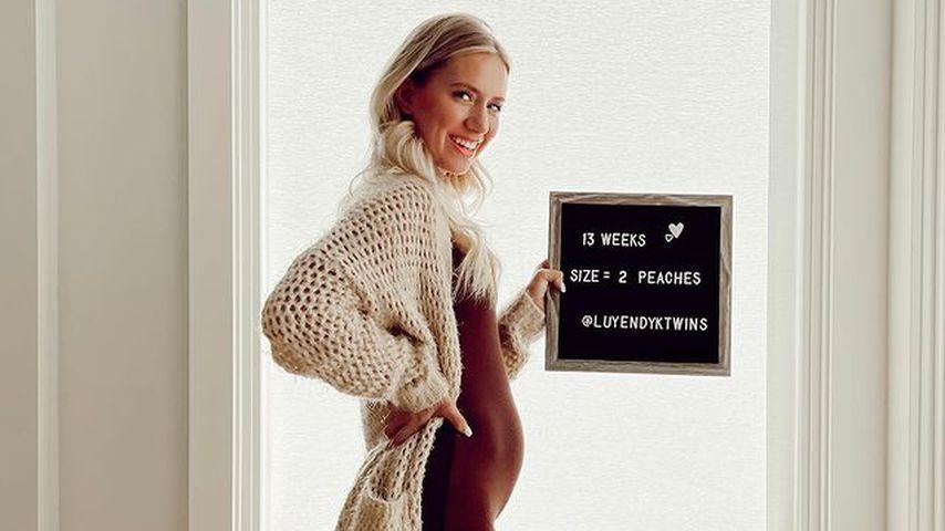13. Woche schwanger: Lauren Burnham zeigt ihren Babybauch