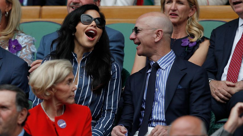Lauren Sanchez und Jeff Bezos im Juli 2019