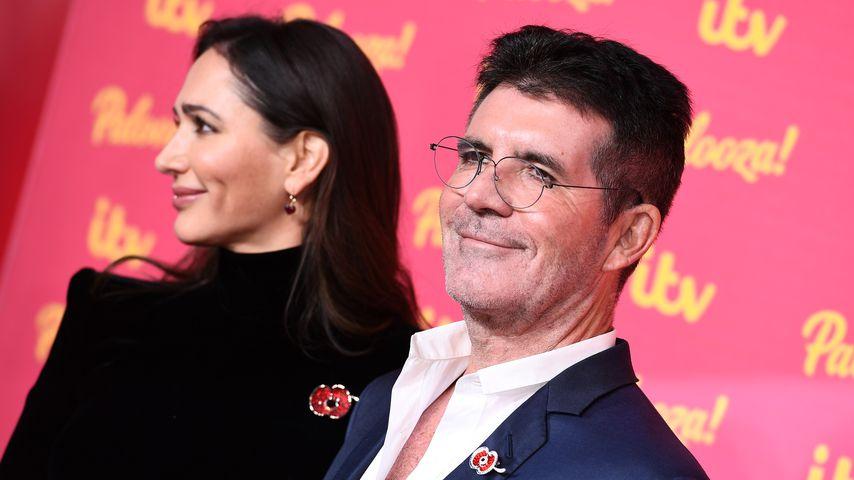 Lauren Silverman und Simon Cowell 2019 in London