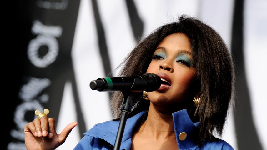 Lauryn Hill bei L.A. Rising 2011
