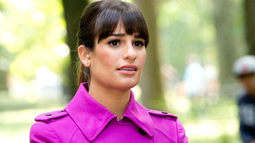 Allein am Glee-Set: Lea Michele traurig & so schön