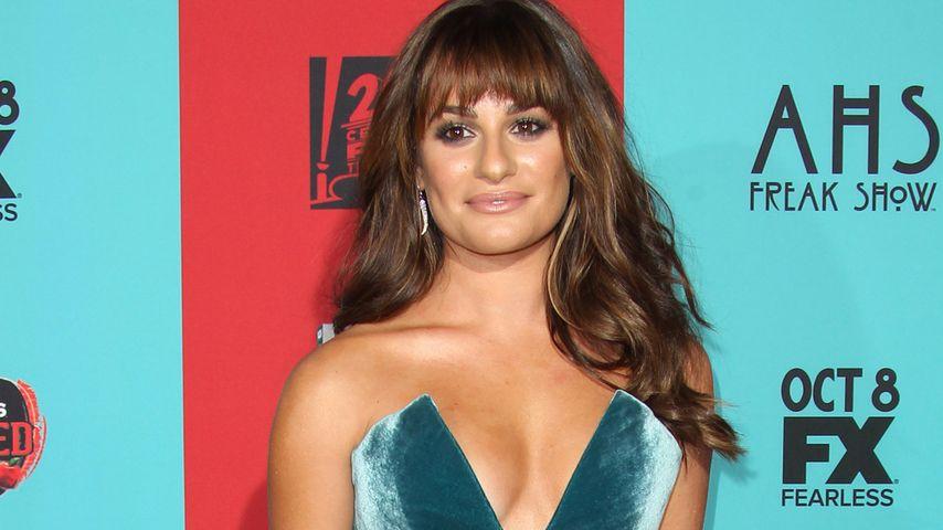 """Gewagt: Lea Michele posiert mit """"Wow""""-Ausschnitt!"""