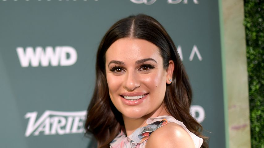 Lea Michele im Februar 2018 in Los Angeles