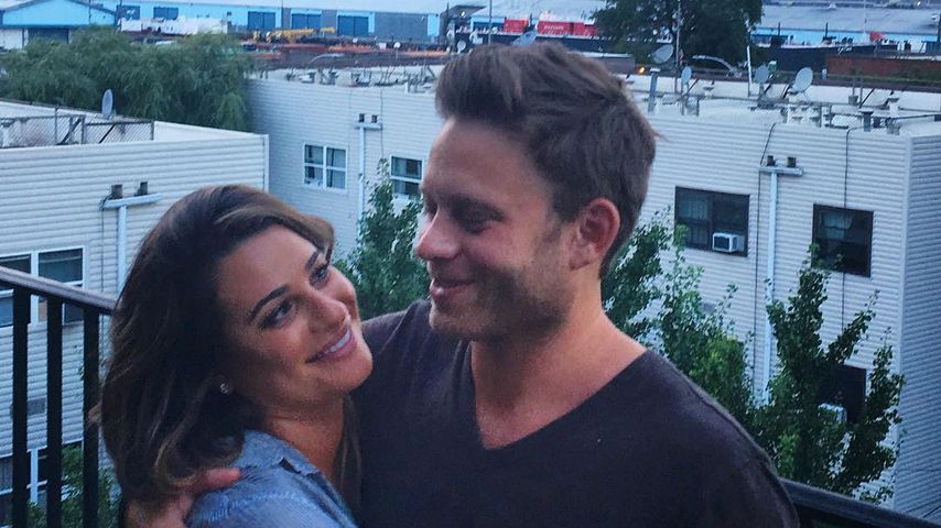 So in love: Lea Michele turtelt mit ihrem Verlobten in NYC!