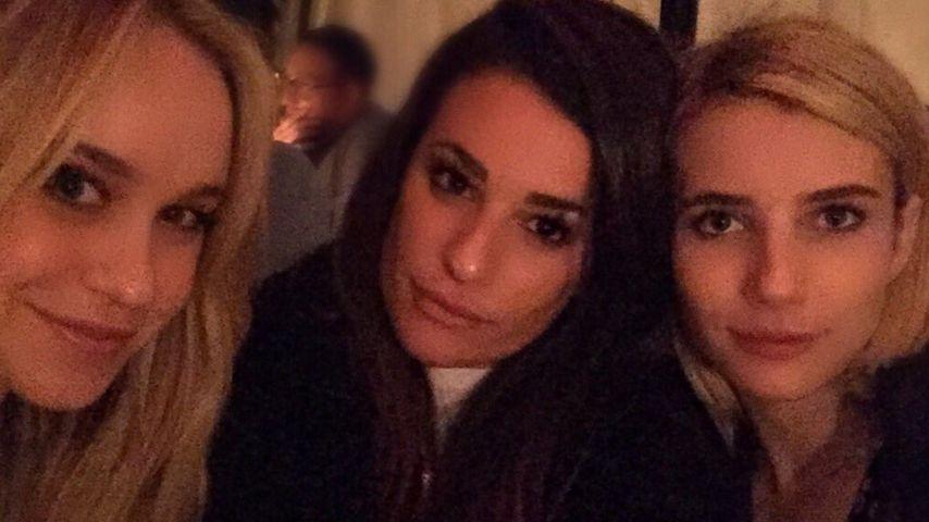 Emma Roberts und Lea Michele