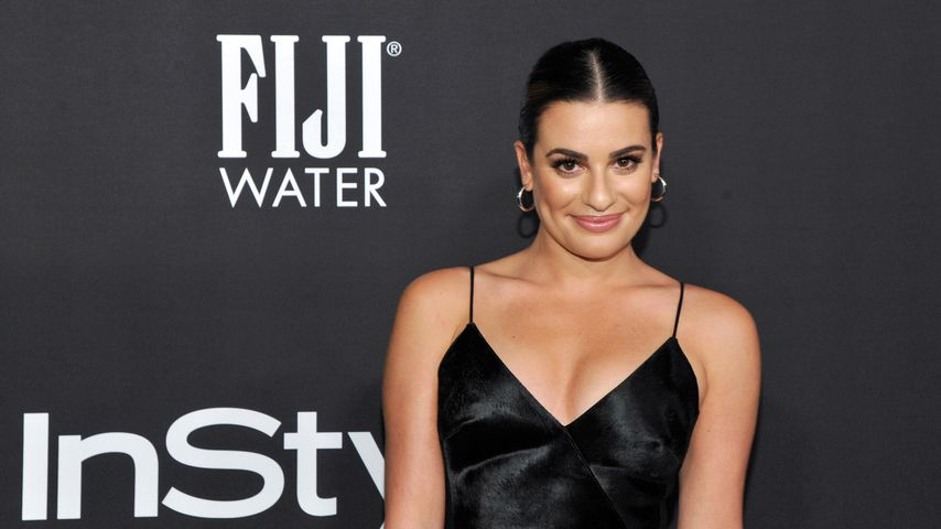 """""""Glee""""-Lea Michele lächelt vom sexy Buch-Cover"""
