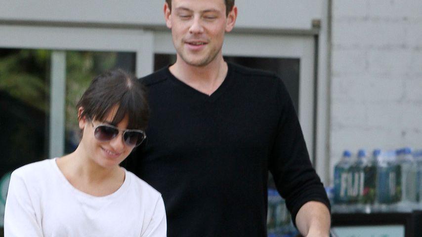 Süßer Paar-Einkauf: Lea Michele & Cory Monteith