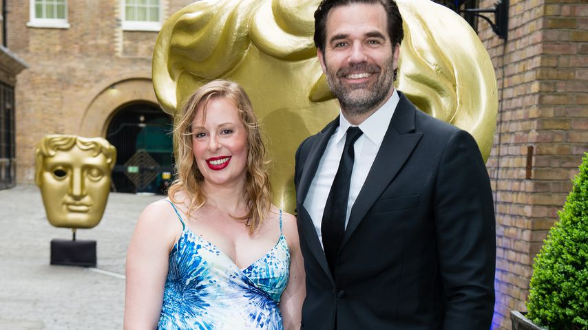 Leah und Rob Delaney, 2018 in London