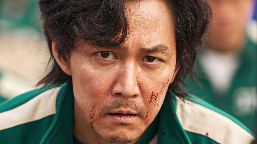 "Lee Jung-jae als Seong Gi-hun in der Serie ""Squid Game"""