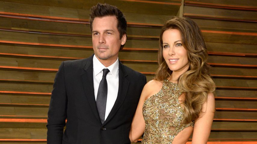 Len Wiseman und Kate Beckinsale bei der Vanity Fair Oscar Party 2014
