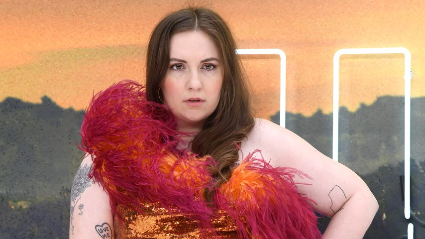 """Lena Dunham bei der """"Once Upon a Time... in Hollywood""""-Premiere 2019 in London"""