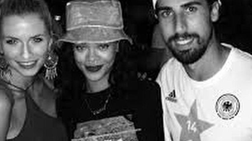 Sami Khedira, Rihanna und Lena Gercke
