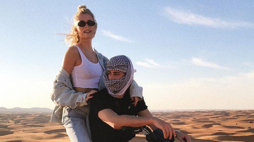 Lena Gercke und Dustin Schöne in den Vereinigten Arabischen Emiraten