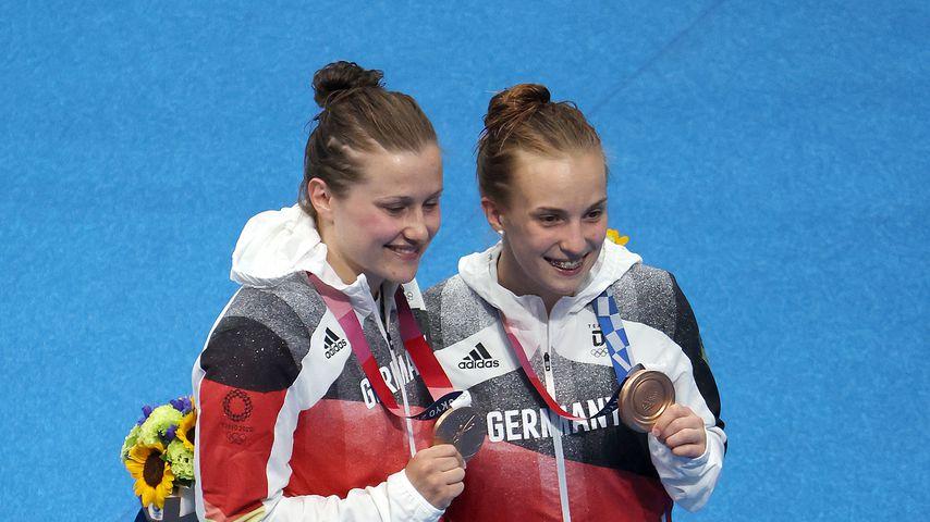 Lena Hentschel und Tina Punzel