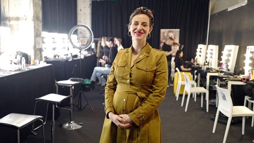 Während Fashion Week: Designerin Lena Hoschek ist schwanger!