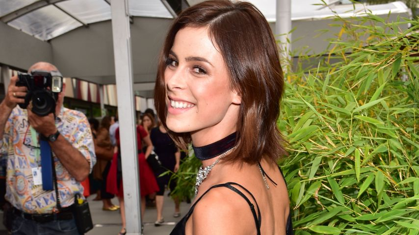 Lena Meyer-Landrut bei der Mercedes-Benz Fashion Week