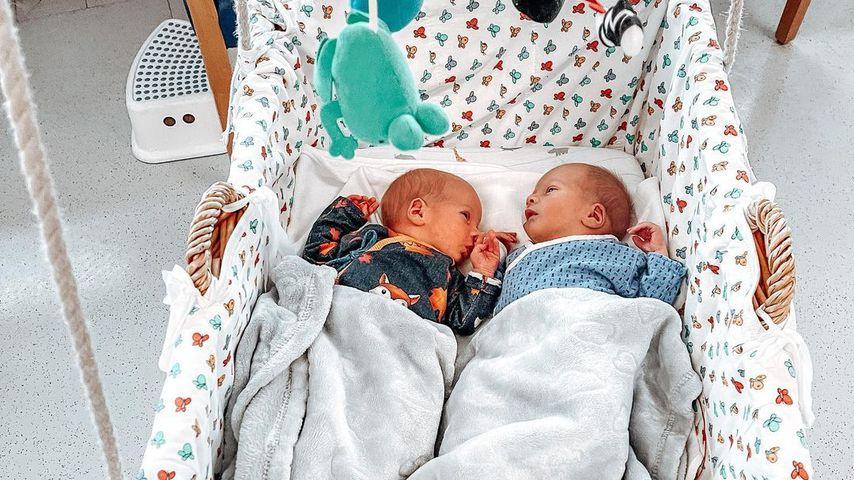 Leo und Luis, die Söhne von Tanja Szewczenko