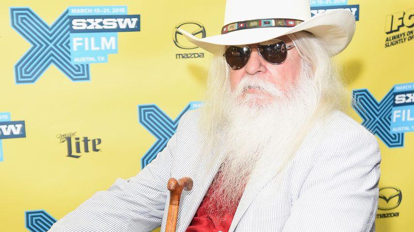 Musiker Leon Russel in Austin 2015