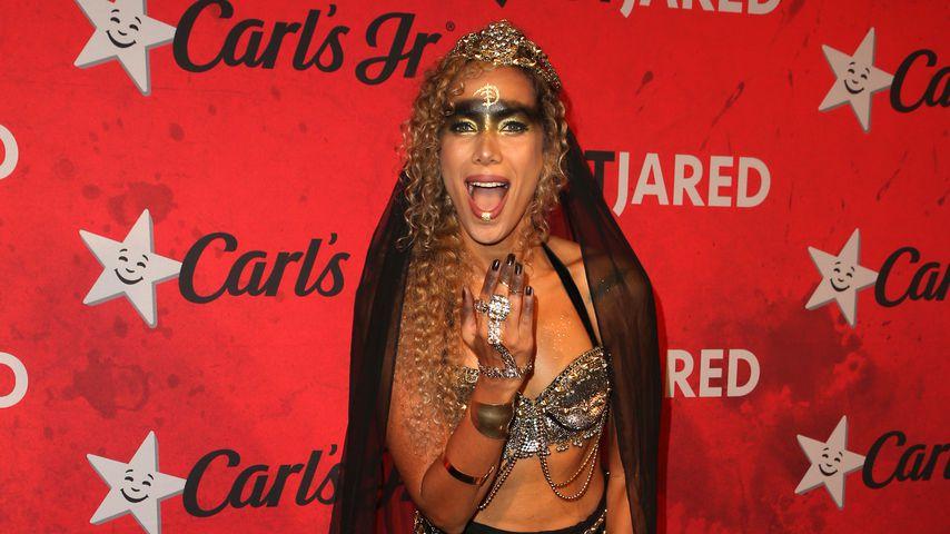 Leona Lewis bei der Halloween-Party von Just Jared 2018