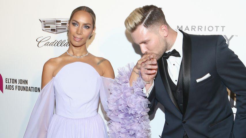 Leona Lewis und Dennis Jauch im Februar 2019 in Los Angeles