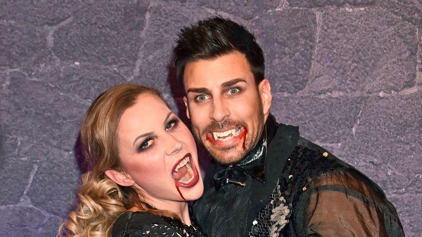 """Leonard Freier und seine Frau Caona bei der Musical-Premiere von """"Tanz der Vampire"""""""