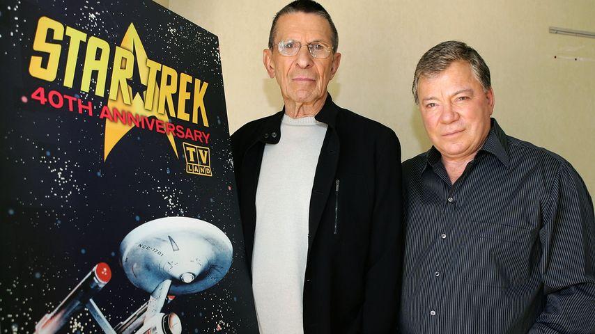 """Untröstlich: Nimoys Beerdigung ohne """"Captain Kirk"""""""