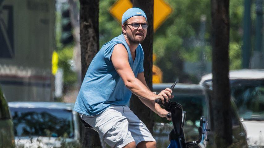 Nach Umwelt-Skandal: Leonardo DiCaprio radelt durch NYC