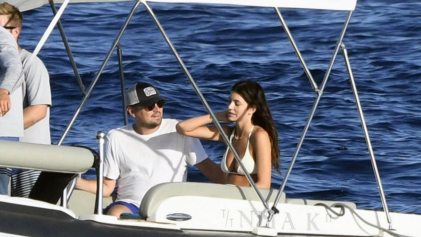 Leonardo DiCaprio und Camila Morrone in Italien