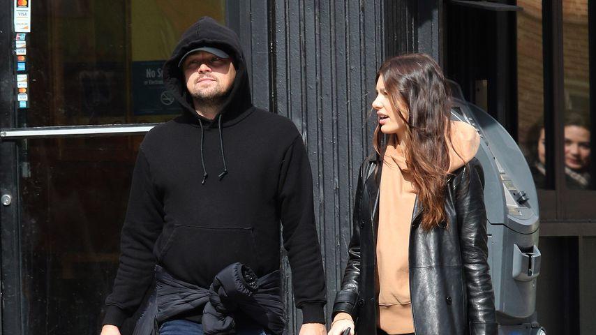 Leonardo DiCaprio und Camila Morrone in New York, Februar 2020