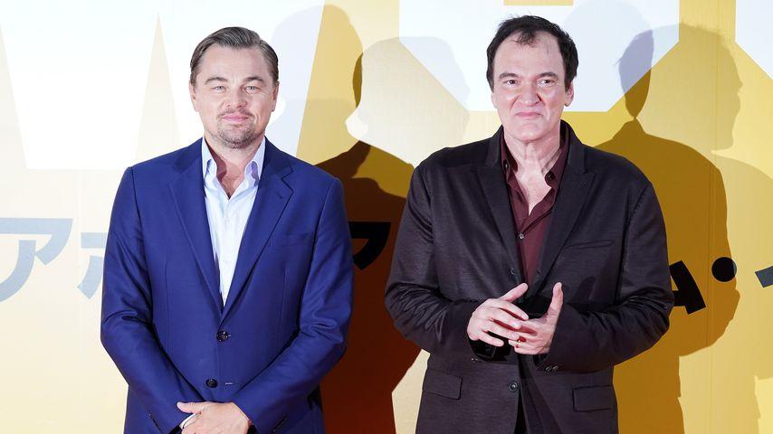 Leonardo DiCaprio und Quentin Tarantino