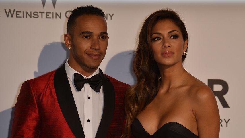 """Lewis Hamilton und Nicole Scherzinger, """"Cannes Film Festival"""" 2014"""