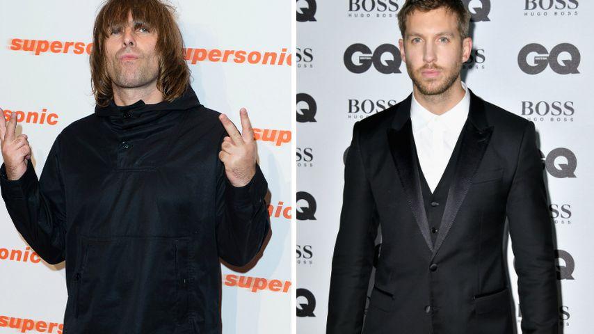 Rockstar-Diss! Liam Gallagher hetzt gegen Calvin Harris