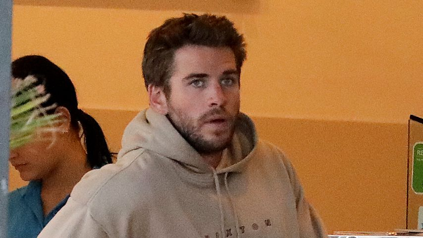 Liam Hemsworth in Byron Bay