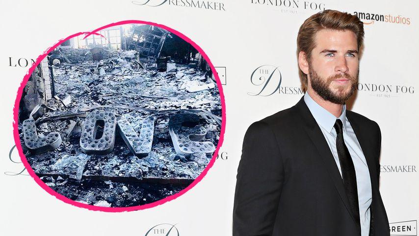 Waldbrände in L.A.: Liam Hemsworth postet Foto aus Ruinen!