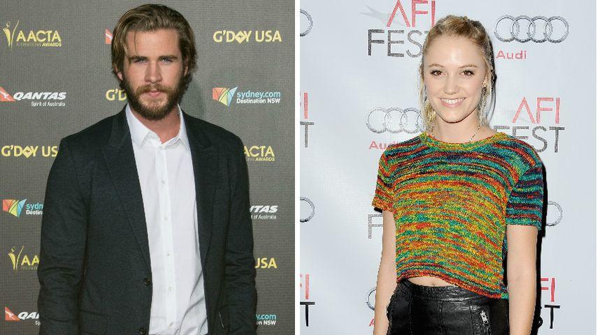 Miley wer? Liam Hemsworth datet Co-Star Maika Monroe