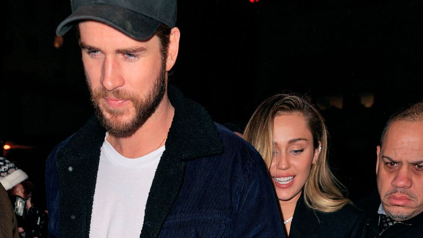 Hand in Hand: Seltener Paar-Auftritt von Miley Cyrus & Liam!