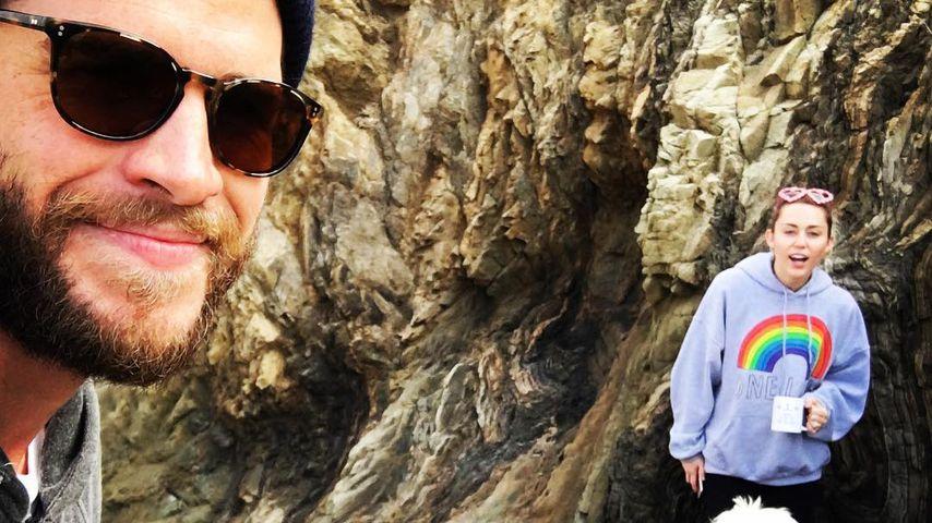 Liam Hemsworth und Miley Cyrus ganz privat