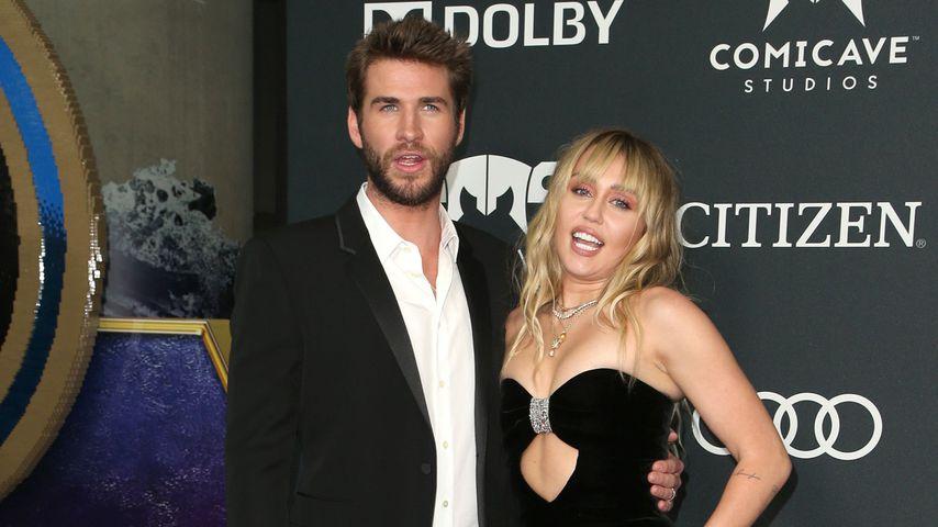 Liam Hemsworth und Miley Cyrus 2019 in Los Angeles