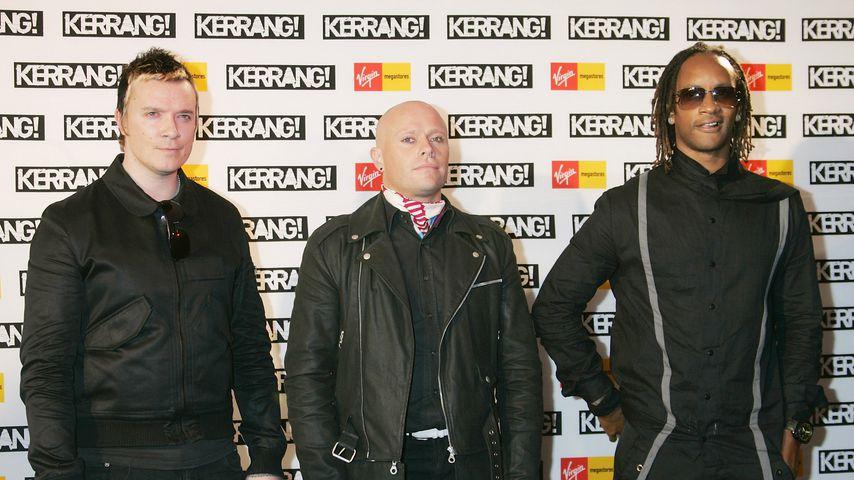 Liam Howlett, Keith Flint und Maxim von The Prodigy