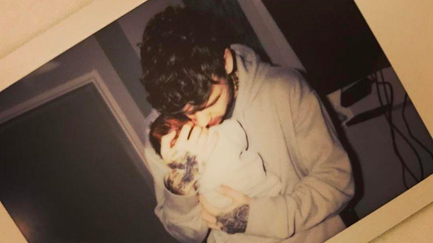 1. Baby-Foto: Soooo stolz sind Liam Payne und Cheryl Cole!