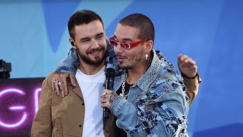 "Liam Payne und J. Balvin bei ""Good Morning America"""