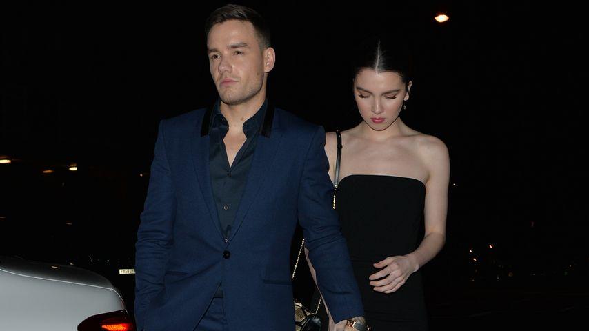 Liam Payne und Maya Henry auf dem Weg zur Fenty Party im Laylow, London
