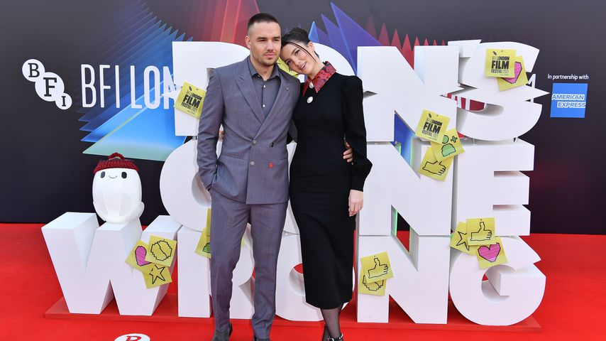 """Liam Payne und Maya Henry bei der Weltpremiere von """"Ron's Gone Wrong"""", Oktober 2021"""