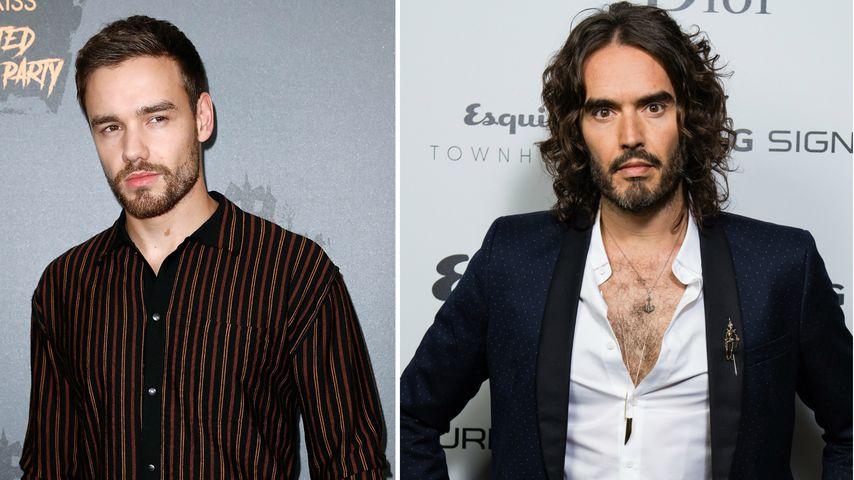 Liam Payne war mit Russell Brand bei Anonymen Alkoholikern