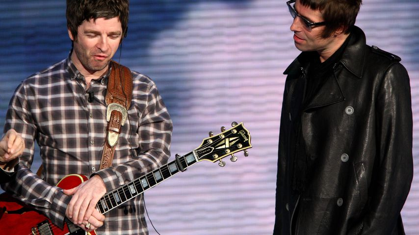 Noel und Liam Gallagher im November 2008