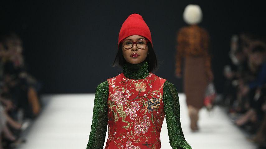 GNTM-Kandidatin Lijana auf der Berliner Fashion Week, 2020